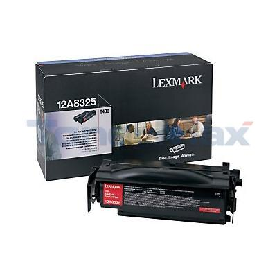 LEXMARK T430 TONER CARTRIDGE BLACK 12K